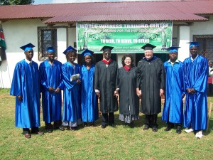 WWTC-Kenya Staff with the Founders (Drs. Clifton and Leta McDowell)