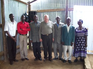 Rev. Clifton with the Pastors attending the conference.