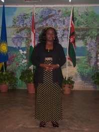 Sis. Josephine Minayo -- Receptionist
